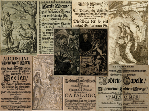Austrian Baroque Corpus collage of page images